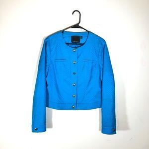 Carlisle Oceanblue Embroidered Jacket